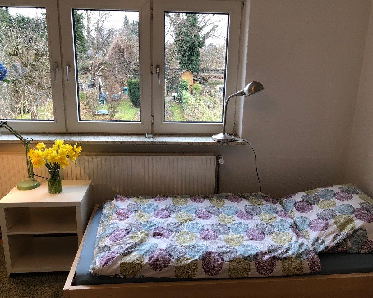 Mein Gästezimmer im Hamburger Alstertal